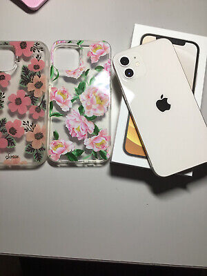 White Apple iPhone 12 (128GB) T-Mobile
