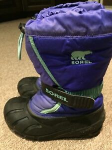 Girls Sorel winter boots size 1