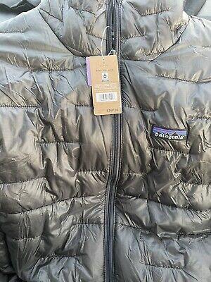 Patagonia Micro puff jacket medium Forge Grey Mens