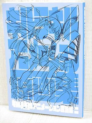 KILL LA KILL Animation Gengashu 2 Desgin Works Model Sheet Art Book