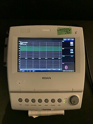 Edan F6 Fetal Maternal Monitor With Accessories 30 Day Warranty