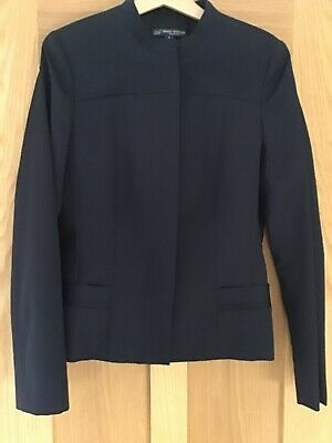 NEW Navy Brooks Brothers Jacket in uk size 12