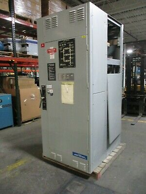 Asco 962 Automatic Transfer Switch W Bypass E9623100097xc 1000a 440-480v Used