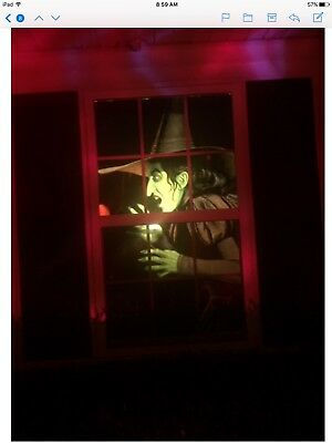 Wizard of OZ WICKED Witch Window BACKLIT Poster WOWindow Translucent Halloween - Wowindow Halloween