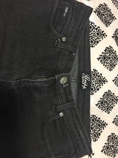 Gripp jeans size 10 Faded black