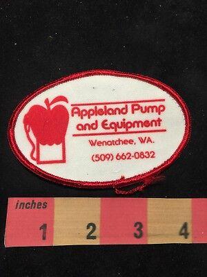 Vtg WENATCHEE APPLELAND PUMP & EQUIPMENT Washington Advertising Patch 88XD