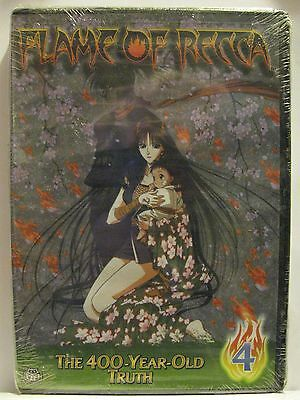 Flame of Recca: The 400 Year Old Truth Vol. 4 (DVD, 2005) NEW! See Details