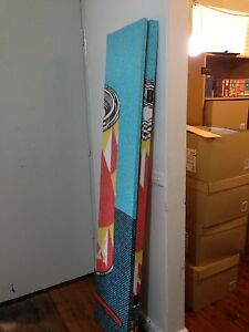 3 panel foldable IKEA divider in good condition. Airds Campbelltown Area Preview