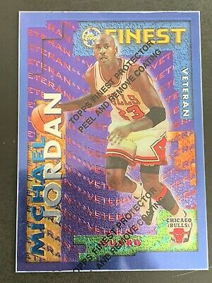 Michael Jordan 95-96 Topps Finest RV20 With Protective Coating