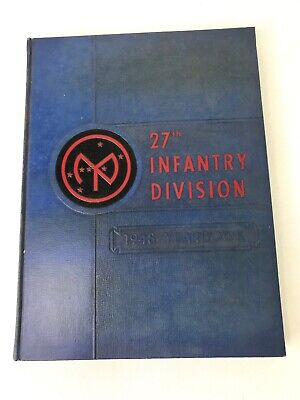 1948 US Army 27th Infantry Division Yearbook