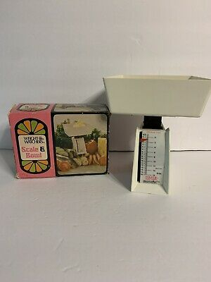 1973 Weight Watchers Scale And Bowl Set In Original Box Model 168 Vintage