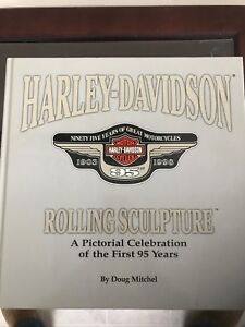 Harley- Davidson rolling sculpture the first 95 years