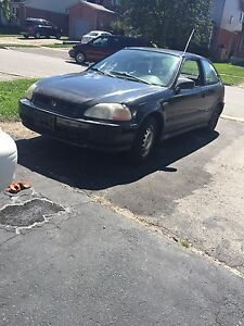 98 civic hatch part out