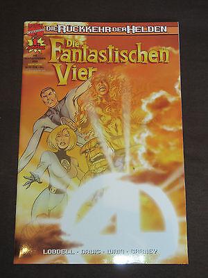 DIE FANTASTISCHEN VIER # 1 SONNENLICHT-VARIANT - RÜCKKEHR DER HELDEN PANINI 2000