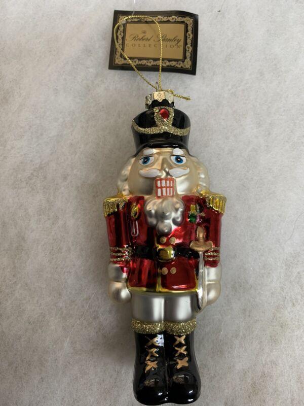 Robert Stanley Collection Red Nutcracker Ornament - #5826078 - Vintage 2007