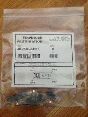 Terminal-adapter-kit (Rockwell Automation #AK-U0-RJ45-TB2P RJ45 Terminal Adapter Kit Package of 6 New)