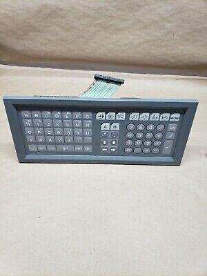 Okuma 1911-2524-83-027 Keyboard Keypad Control Panel Cnc 182cgb1