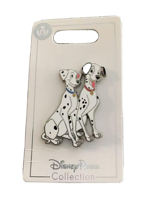 Official Disney 101 Dalmatians Pongo and Perdita Pin BRAND NEW