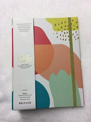 Brit Co Design Your Own Planner 6 Ring Binder Youve Got This 1 In Ring New