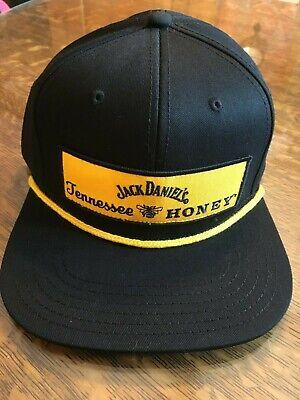 NWT FLAT BILL JACK DANIELS Tennessee Honey whiskey ball cap hat