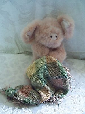 The Boyds Collection Pig Plush with Blanket 9 inch Blanket 9 Inch Plush
