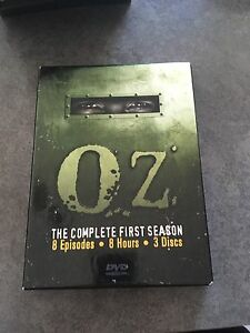 Complete box set of Oz (HBO Classic Show)