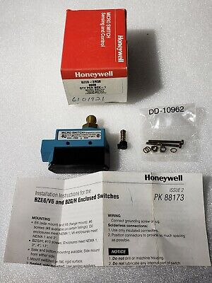Honeywell Micro Switch Enclosed Limit Switch Bze6-2rq8