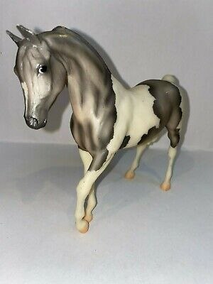 Breyer Classic Grey and White Paint Johar Model Horse