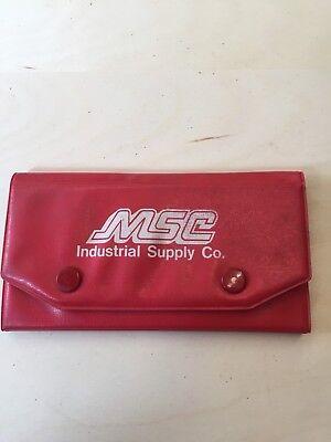 Msc 25 Pc. Radius Gage Set 164 To 12 W Holder For Machine Shop Japan Made