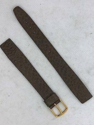 Saddle Band (Hirsch Austria 16mm 20mm Genuine Leather Saddle Leather Watch Band)