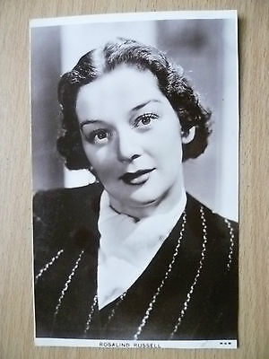 Film Actresses Real Photo Picturegoer Postcard- ROSALIND RUSSELL, No.928