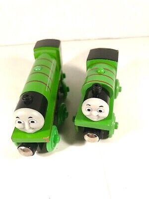 Thomas & Friends Wooden Railway Tank Engine Green Train Henry & Percy LOCO 2003