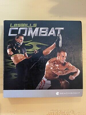 Les Mills Combat Workout Replacement Discs FLAWLESS MINT DVDs