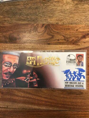 Art Neville 2006 Limited Edition New Orleans Jazz Fest Cachet Envelope