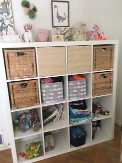 IKEA 4 x 4 Bookcase / Toy Storage Unit