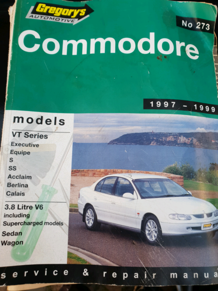 gregory s automotive service manual for holden commodore vt auto rh gumtree com au gregory's car manuals online free gregory car manuals australia