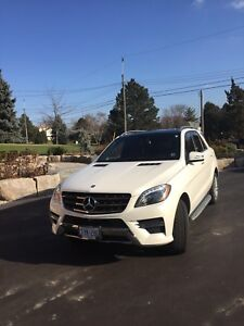 2015 Mercedes-Benz Ml 350 blue Tec -2 sets of wheels
