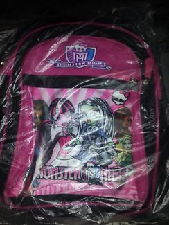 Monster High Backpack Nambour Maroochydore Area Preview