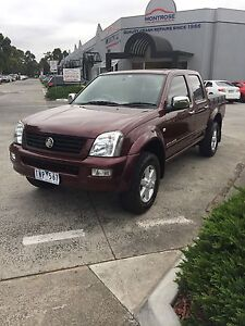 2004 Holden Rodeo Dual Cab Ute 4x4 3.5litre Petrol Lilydale Yarra Ranges Preview