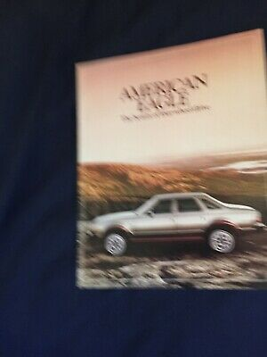 1980 AMC Eagle 4X4 Color Brochure Catalog Prospekt segunda mano  Embacar hacia Mexico