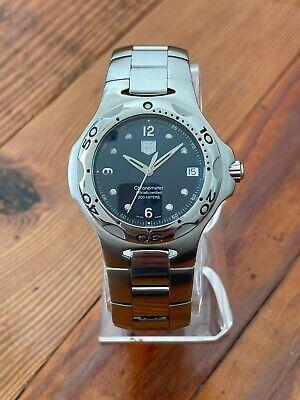 Vintage Tag Heuer Automatic 200M Diver's Watch Kirium WL5113-0 Sapphire Beauty