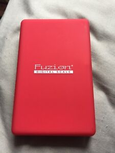 Barely used Fusion scale
