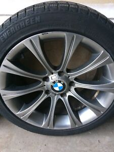 Winter tire and rims 225/45/17