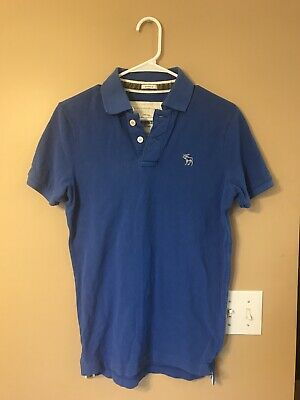 Abercrombie And Fitch Muscle Polo Size Small