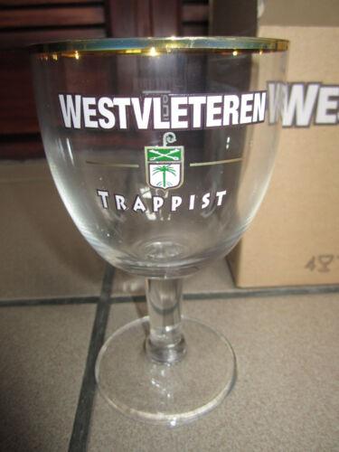 Westvleteren Trappist beer glasses Chalice : set of 4