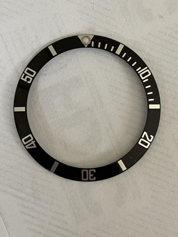 Authentic Rolex Submariner Black Watch Bezel Insert 16610 16800 OEM
