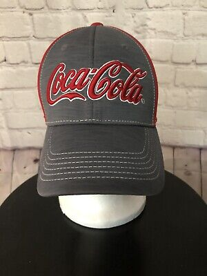Coca-Cola One Fit Red/Gray Hat, NO STAINS NO ODORS NO HOLES. Very Nice