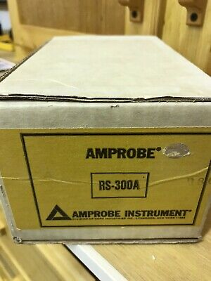 Rs-300a Amprobe  New Old Stock. Never Used In Original Box. No Ohm Probe. 95