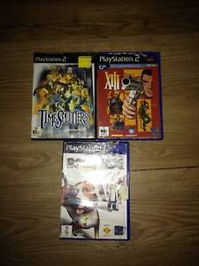 playstation 2 games from 15 to 20  time splitters, xiii, dogs life