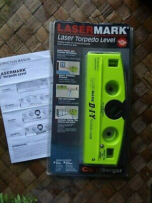 Cst Berger Laser Mark Torpedo Level 57 Lmetl8 Used
